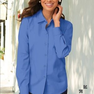 Foxcroft perfect-fit long sleeve shirt
